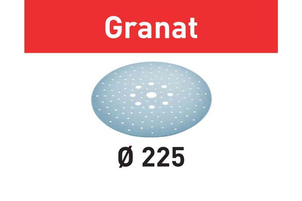 Festool Abrasive Sheet Granat STF D225/128 P180 GR/25 Pack (205660)