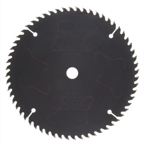 "Tenryu Blade - 7-1/4"" 60 Tooth 5/8""KO Arbor 8300 RPM (SL-18560C)"