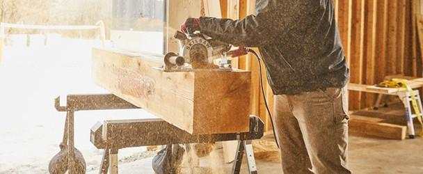 "Skilsaw 16"" Worm Drive Sawsquatch Carpentry Chainsaw (SPT55-11)"