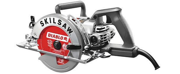 """Skilsaw 7-1/4"""" Worm Drive Saw w/Diablo Blade (SPT77W-22)"""