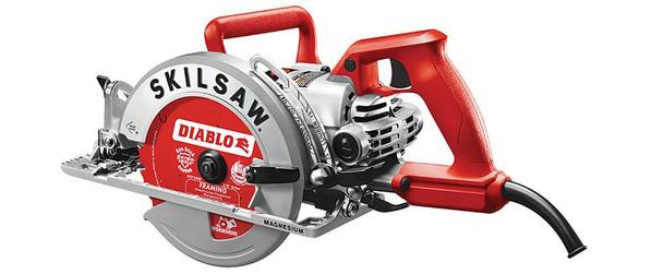 """Skilsaw 7-1/4"""" Magnesium Worm Drive Saw w/Diablo Blade (SPT77WM-22)"""