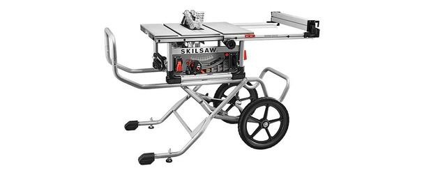 "Skilsaw 10"" Heavy Duty Worm Drive Table Saw w/Stand (SPT99-11)"