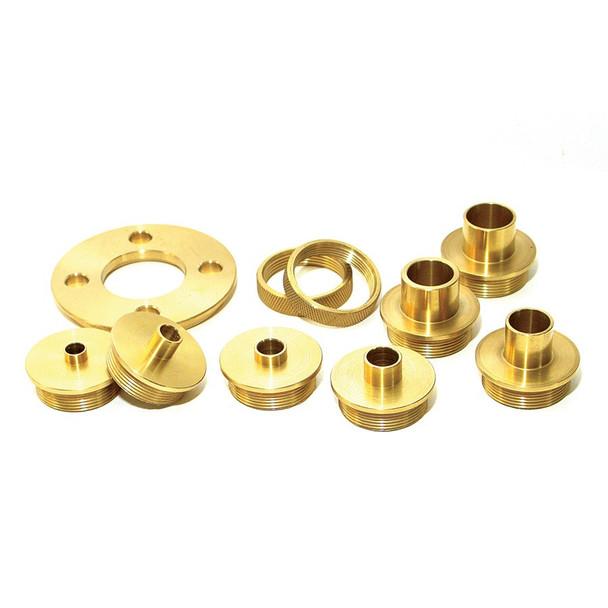 Amana 10-Piece Brass Template Guide Set (BTG-100)
