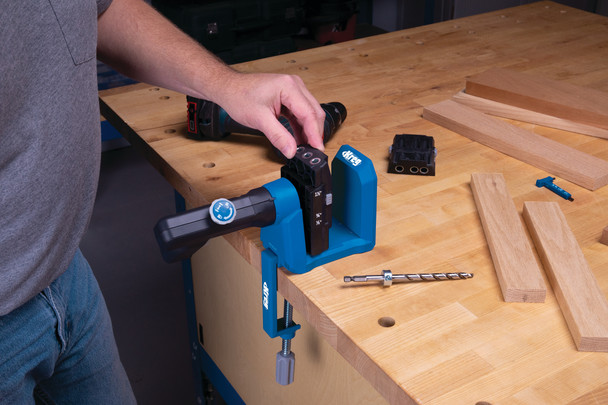 Kreg Micro-Pocket Drill Guide Kit 530 (KPHA530)