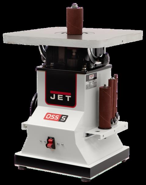 Jet JBOS-5, Benchtop Oscillating Spindle Sander, 1/2HP, 1Ph 115V