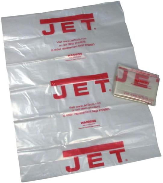 "Jet Clear Plastic 20"" Diameter Collection Bag"