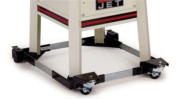 Jet JMB-UMB-HD INDUSTRIAL-DUTY UNIVERSAL MOBILE BASE holding a table up