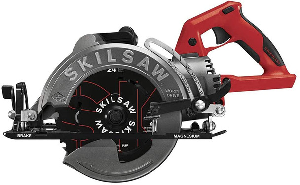 "Skilsaw 7-1/4"" TRUEHVL Cordless Worm Drive Saw Bare Tool"