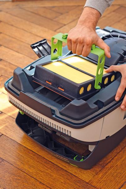 Festool Dust Extractor CT 26 E HEPA - home example 2