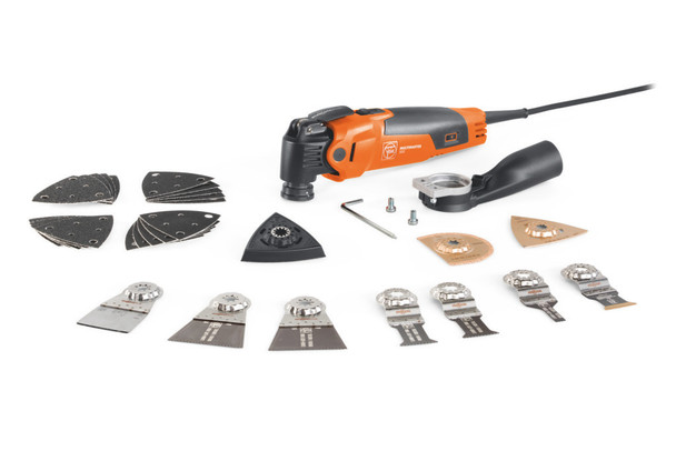 Fein MULTIMASTER MM 500 PLUS TOP and attachments