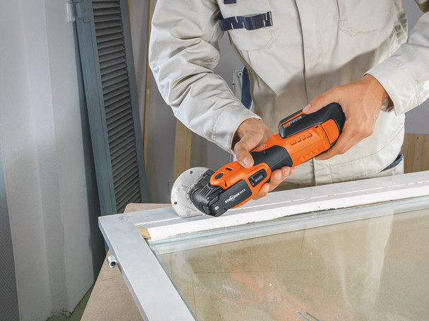 Fein cordless multimaster AMM 700 max top trimming window frames