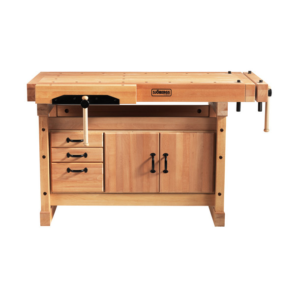 Sjobergs Elite Workbench 1500 + SM3 Cabinet Combo