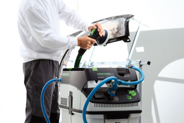 Festool Dust Extractor CT 36 E HEPA - cleaning example