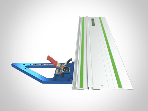 TSO GRS-16 Guide Rail Square (61-130-R) With TSO TPG Guide Rail Adapter (61-390) & TSO TPG-50 Parallel Guide System Set (61-383)
