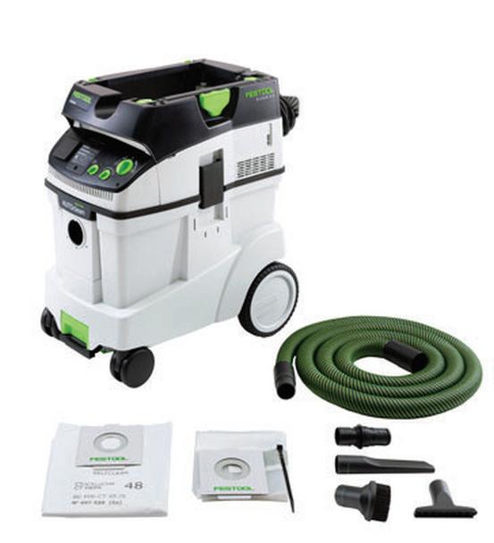 Festool Dust extraction MX-A (576759) With Festool MX 1200 E EF Mixer (575213) With Festool CT 48 E AC Mobile Dust Extractor HEPA (576761)