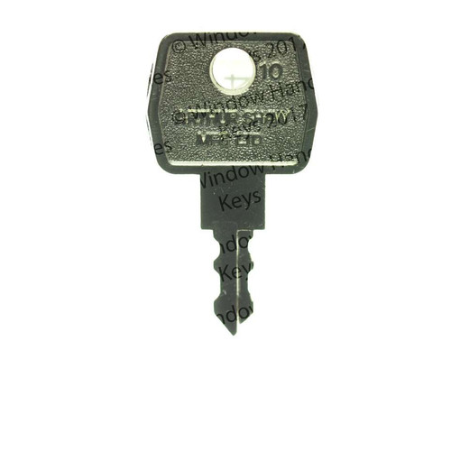 Arthur Shaw Window handle key - EE34