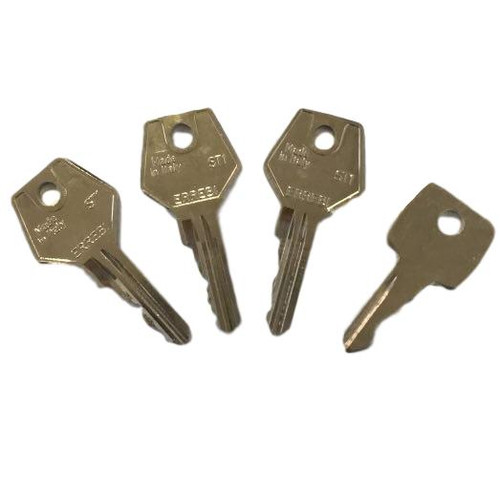 Pack of 4 keys to suit the TSS Laird espag window handle