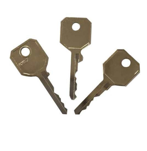 WMS Window Handle Key Pack - 3 Different Keys to Suit the WMS Handle