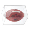 Max UV Premium Football Display Case Cube Holder