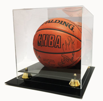 Max Pro Acrylic Basketball Display Case With Mirror Back