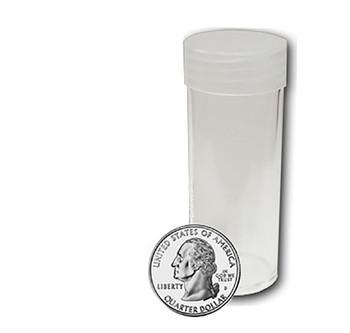 Round Coin Tube - Quarter