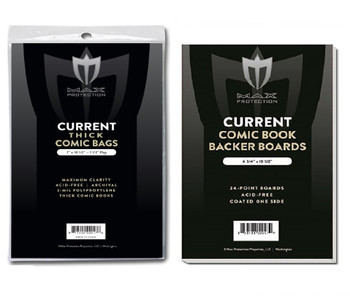 50 Each Current Thick regular Comic Book Bags / Boards PREASSEMBLED Max Pro