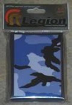 Legion Sleeves - Blue Camo - 50ct Standard Sized