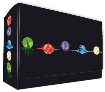 Dual Deck Box with Magnetic Closure - Elemental 5
