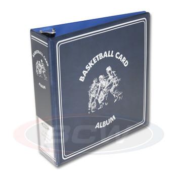 """3"""" Album - Basketball - Blue"""