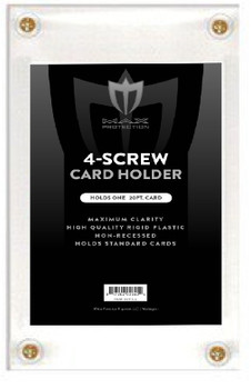 Max Protection 4-Screw Card Holder - Non Recessed