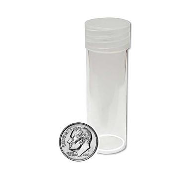 Round Coin Tube - Dime