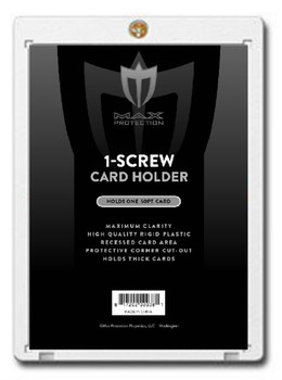 Max Protection 1-Screw Thick Card Holder - 50pt