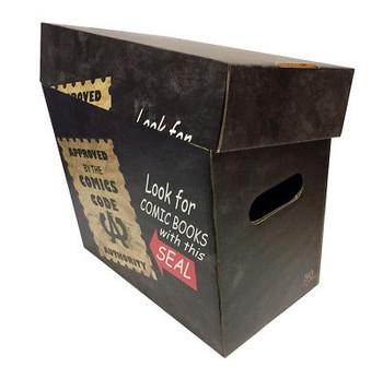 COMICS CODE AUTHORITY Art Comic Book Storage Box - Holds 125-140 Comics