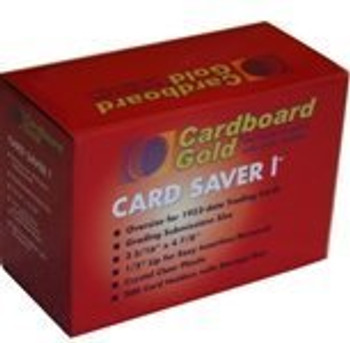 200ct Cardboard Gold Card Saver 1 - Semi Rigid Sleeves Protectors - PSA - BGS - Graded Card Submissions