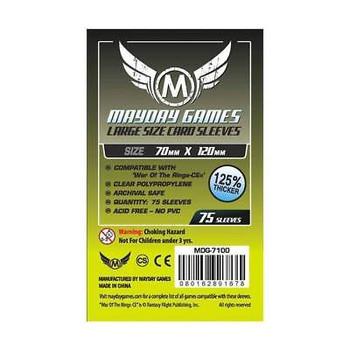Tarot Card Premium Sleeves - 70mm x 120mm - 75ct Pack