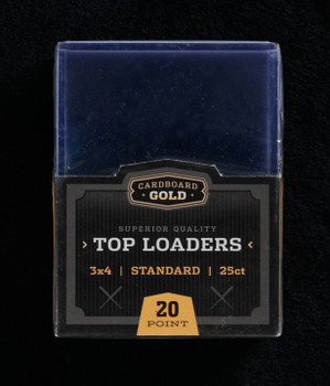 Top-loader 3X4 For Standard Size Trading, Sports, and Gaming Cards (CASE/1,000)