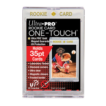 35pt One Touch Magnetic Holder - Rookie Card