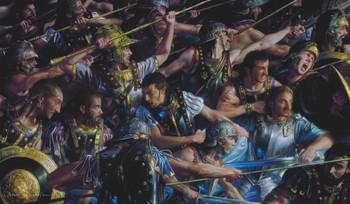 ARTISTS OF MAGIC PREMIUM PLAYMAT - FARAMIR AT OSGILIATH