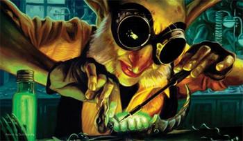 ARTISTS OF MAGIC PREMIUM PLAYMAT - GOBLIN ENGINEER