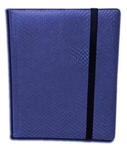 Legion - Dragon Hide 9-Pocket Binder - Blue