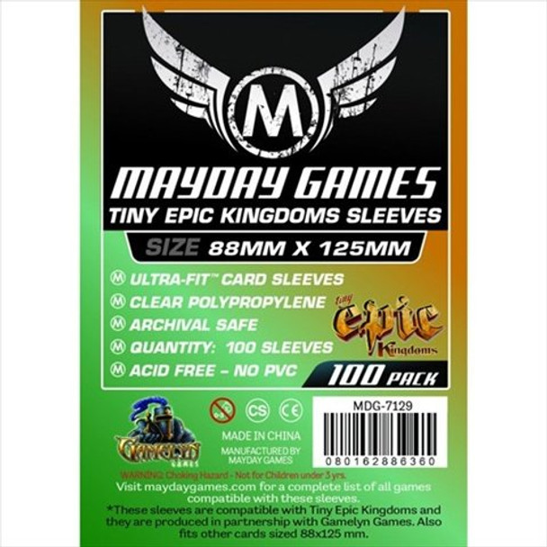 Tiny Epic Kingdoms Card Sleeves - 88mm x 125mm - 100ct Pack