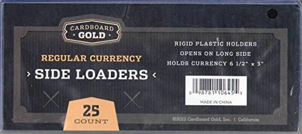 Currency Topload Holder - Regular Bill Size