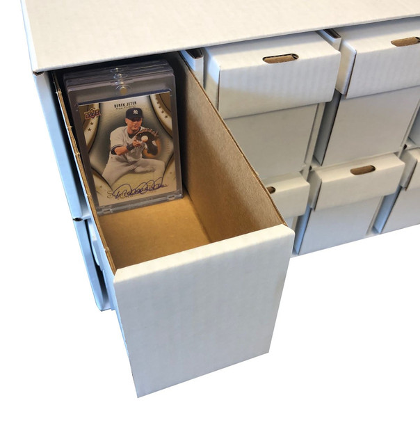 Max Protection Card Penthouse XL Storage Box System - Holds One Touch Magnetic Holders and Toploaders