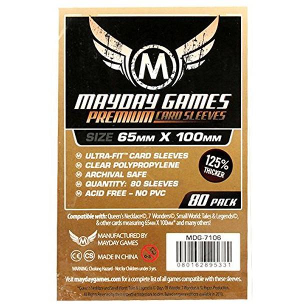 7 Wonders Card Sleeves Magnum Ultra Pit Premium - 65mm x 100mm - 80ct Pack