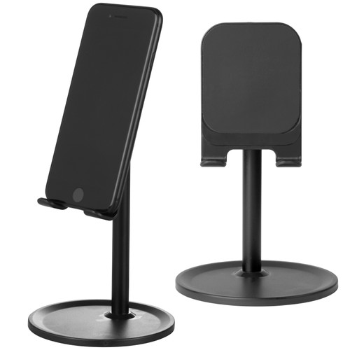 Intempo® Desk Table-top Tablet Phone Holder Stand, Black