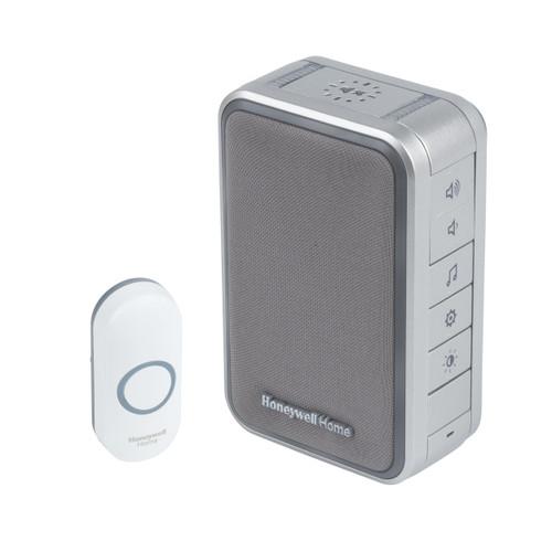 Honeywell Wireless Doorbell, Sleep Timer and Mute Function, Grey