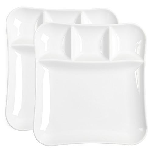 Vivo by Villeroy & Boch Group Fondue Gourmet Serving Plates, 2 Piece Set