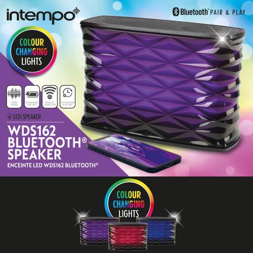 Intempo® Bluetooth Galaxy Speaker, 25m Wireless Range