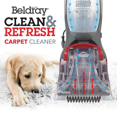 Beldray® Compact Upright Carpet Cleaner Rug Washer