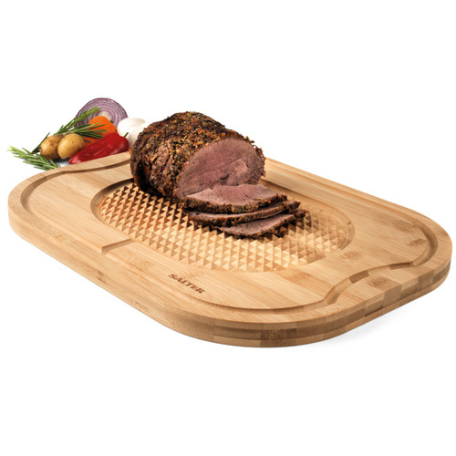 Salter® Bamboo Meat Roast Joint Carving and Serving Board